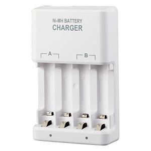 ニッケル水素 充電器 単3・単4両用型 (Amazonベーシック充電池、DANBOARD充電池 互換...