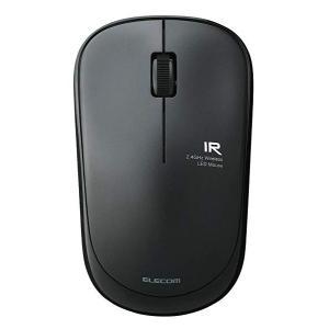 エレコム ワイヤレスマウス 約2.5年電池交換不要 省電力 3ボタン ブラック M-FIR08DRB...