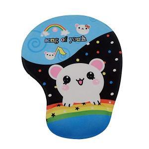 可愛いアニメ動物柄 立体マウスパッド 低反発 疲労軽減 オシャレ 人気なマウスパッド (マウス)