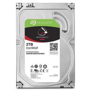 IronWolf 2TB24時間稼働 PC NAS向け 3.5インチ HDD 内蔵ハードディスク S...