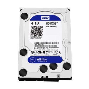 WD 内蔵HDD Blue 3.5' 4TB SATA(6Gb/s) 64MB 5,400rpm W...