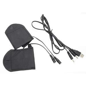 USB ヒーター手袋 USBウォーマー ヒーター内蔵 ハンドウォーマー ※インナーのみ 送料無料 送料無料|clorets