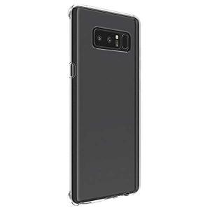 Galaxy Note8 ケース カバー SCV37 滑りにくい スタイリッシュTPU シリコンケー...