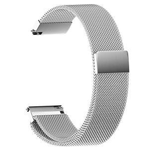 送料無料 マグネットクラスプ バンド 20mm 腕時計 バンド ステンレス製ベルト対応 Samsun...