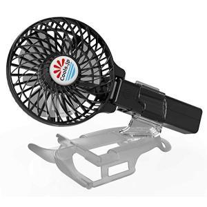 えりかけ扇風機 BodyFan(服の中へ送風可能)冷却タオル首かけ/手持ち/日傘/ベビーカー兼用 U...