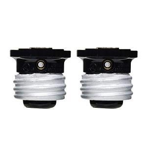 E26 セパラプラグボディ 口金E26→コンセント E26口金をコンセントプラグに変換 照明補助器具...