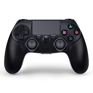 PS4 コントローラー ワイヤレス コントローラー pc スマホ用 無線 加速度/振動/重力感応/6...