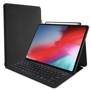 iPad Pro 12.9' 2018 キーボード ケース 軽量 フォリオ スタンド 保護 スマート...