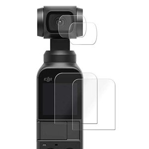 DJI OSMO POCKET フィルム 強化ガラス同等の硬度 高硬度9H素材採用 日本製素材 気泡...