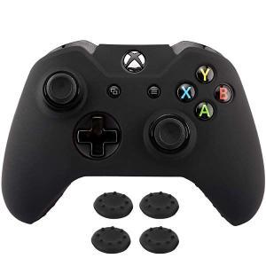 XBOX ONE コントローラー ゲームパッド 専用カバー ワイヤレス 耐衝撃 シリコンケース 滑り...