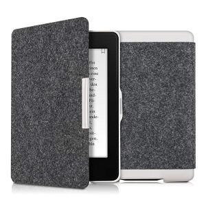 ・上品な素材: ダークグレーのシックなフリップカバーを使用すると、eBookリーダーを耐久性のあるフ...