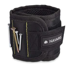 ・実用的なDIYヘルパー: マグネットブレスレットを使用すると、釘、ネジ、針またはナットを手首に直接...