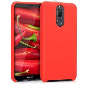 送料無料 Huawei Mate 10 Lite ケース スマホカバー 携帯 保護ケース 赤色マット