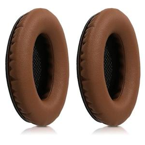 送料無料 2x イヤーパッドBose Quietcomfort用 ヘッドフォン フェイクレザー 交換用 イヤーパッド Bose用 ヘッドフォン こげ茶色|clorets