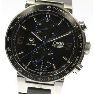 ☆美品【ORIS】オリス ウィリアムズ F1チーム リミテッドエディション 773.7685.418...