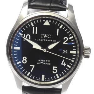 【IWC】パイロットウォッチ マークXVI IW325501 自動巻き メンズ【2024】【ev10...