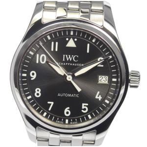 ☆良品 【IWC】IWC パイロットウォッチ 36 IW324002 自動巻き ボーイズ【ev10】