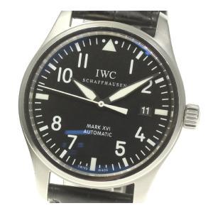 【IWC】パイロットウォッチ マークXVI IW325501 自動巻き メンズ【ev05】