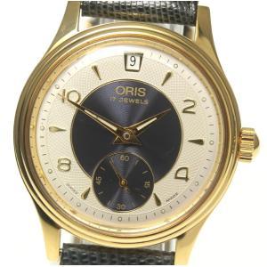 箱付き【ORIS】オリス デイト スモールセコンド Cal.366 7459-26 手巻き メンズ