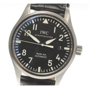 保証書付き【IWC SCHAFFHAUSEN】IWC パイロットウォッチ マークXVI  デイト I...