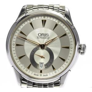 ☆良品【ORIS】オリス アートリエ デイト スモールセコンド 7582 自動巻き メンズ