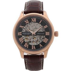 BAROQUE【バロック】BA1001RG-02 自動巻きムーブメント メンズ 腕時計 クォーツ 正規品 おまけ付 clost