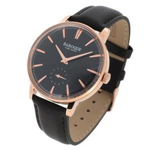 BAROQUE【バロック】BA1008RG-02BR バロック流「ミニマル」を追及したモデル メンズ 腕時計 クォーツ 正規品 おまけ付 clost