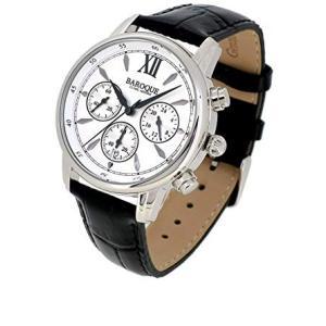 BAROQUE【バロック】 BA1009S-01B センタークロノグラフ メンズ 腕時計 クォーツ 正規品 おまけ付 clost