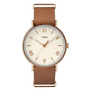 送料無料 TIMEX タイメックス メンズ腕時計 サウスビュー ライトブラウン TW2R28800|clost