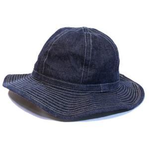バズリクソンズ BUZZRICKSON'S デニムハット ハット 帽子・BR01476A HAT WORKING DENIM  clothingstorespirits