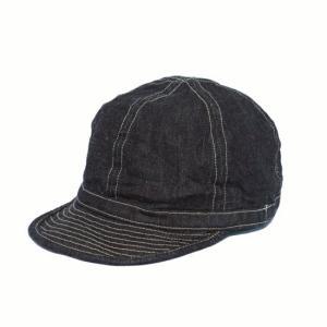 バズリクソンズ BUZZRICKSON'S デニムキャップ キャップ 帽子・BR02308 ARMY DENIM CAP SOLID  clothingstorespirits
