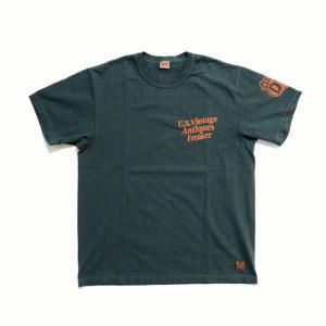 デラックスウエア DELUXEWARE 半袖プリントTEE Tシャツ・DLT-2102 U.S.VINTAGE clothingstorespirits