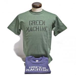 ウエアハウス WAREHOUSE 半袖TEE プリントTEE・Lot4601 GREEN MACHINE  |clothingstorespirits