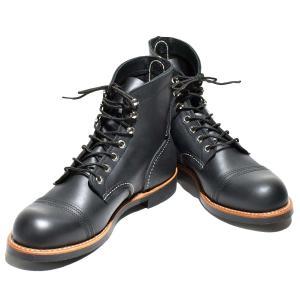 レッドウィング REDWING ワークブーツ WORK BOOTS NO.8084 IRAN RANGERアイアンレンジャーBLACK HARNESS ブラックハーネス|clothingstorespirits