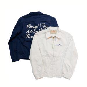 シュガーケーン SUGARCANE ロードランナー スポーツジャケット・SC14847 ROADRUNNER COTTON SPORT JACKET W/EMB'D|clothingstorespirits