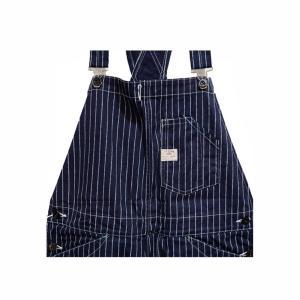 シュガーケーン SUGARCANE WABASH オーバーオール・SC41960 9oz.WABASH STRIPE OVERALLS|clothingstorespirits