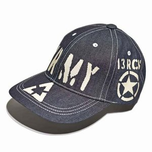 トイズマッコイ TOYSMcCOY ミリタリーキャップ デニムキャップ 帽子・TMA2102 MILITARY DENIM CAP US ARMY