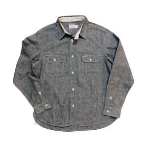 トロフィークロージング TROPHYCLOTHING 長袖シャツ シャンブレーシャツ・TR-SH02 HARVEST SHIRTS clothingstorespirits