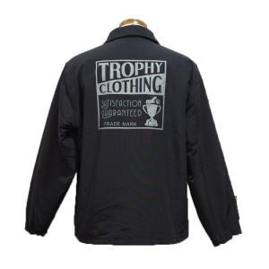 トロフィークロージング TROPHYCLOTHING ナイロンジャケット・TR20SP-502 BOXLOGO WARM UP JACKET clothingstorespirits