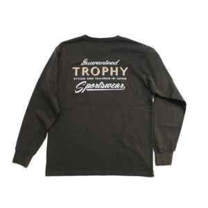 トロフィークロージング TROPHYCLOTHING 長袖TEE ポケットTEE・TR21SS-201 SPORTSWEAR OD L/S POCKET TEE clothingstorespirits