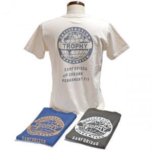 トロフィークロージング TROPHYCLOTHING ODシリーズ プリントTEE・TR21SS-205 EARTH LOGO OD POCKET TEE clothingstorespirits