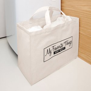 条件付き送料無料 大容量トートバッグ代引き・同梱不可 ランドリーバッグ エコバッグ 軽量 cloudnic