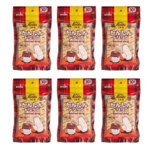 条件付き送料無料 Kalita(カリタ) かんたんドリップ 30枚入×6袋 代引き・同梱不可 キャンプ 珈琲 コーヒー|cloudnic