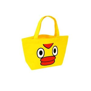 条件付き送料無料 そらジロー トートバッグ代引き・同梱不可 手提げ キャラクター 黄色 cloudnic