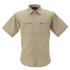 送料無料 BOWBUWN ライトフィールドシャツショートスリーブ ベージュ(20) Lサイズ Y1432-L-20代引き・同梱不可  cloudnic