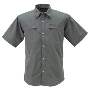 送料無料 BOWBUWN ライトフィールドシャツショートスリーブ チャコール(93) Lサイズ Y1432-L-93代引き・同梱不可  cloudnic