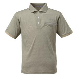 条件付き送料無料 BOWBUWN ライトストレッチポロシャツ オリーブ(64) Mサイズ Y1437-M-64代引き・同梱不可  cloudnic