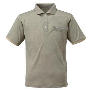 条件付き送料無料 BOWBUWN ライトストレッチポロシャツ オリーブ(64) Lサイズ Y1437-L-64代引き・同梱不可  cloudnic