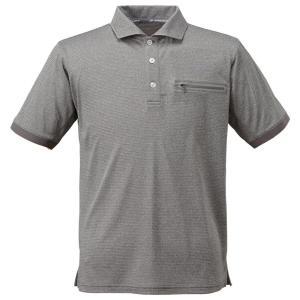 条件付き送料無料 BOWBUWN ライトストレッチポロシャツ 杢グレー(94) Lサイズ Y1437-L-94代引き・同梱不可  cloudnic