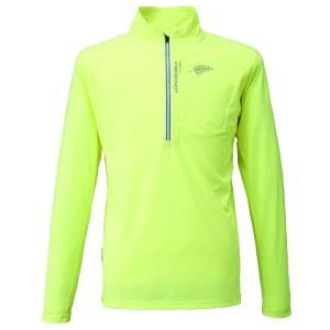 条件付き送料無料 BOWBUWN ジップシャツ イエロー(14) LLサイズ Y1436-LL-14代引き・同梱不可  cloudnic